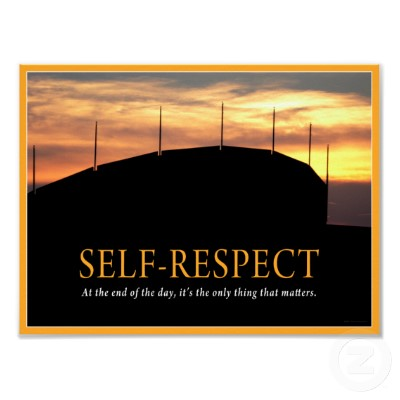 respect others mainly self respect Respect others respect yourself which chat boxes on the front of the poster relate to self-respect what are other ways people respect themselves.