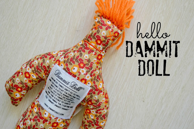 buy dammit doll, dammit doll, stress gift,