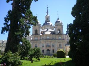 Palacio de La Granja de San Ildefonso en Segovia, España
