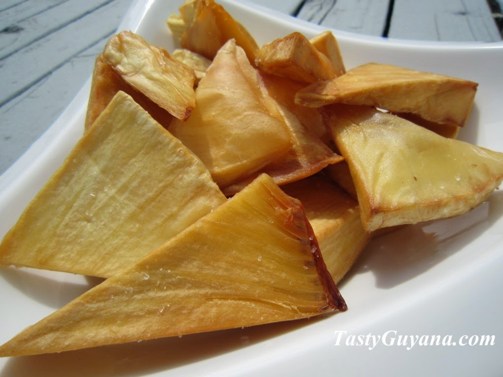 Picture of breadfruit chips