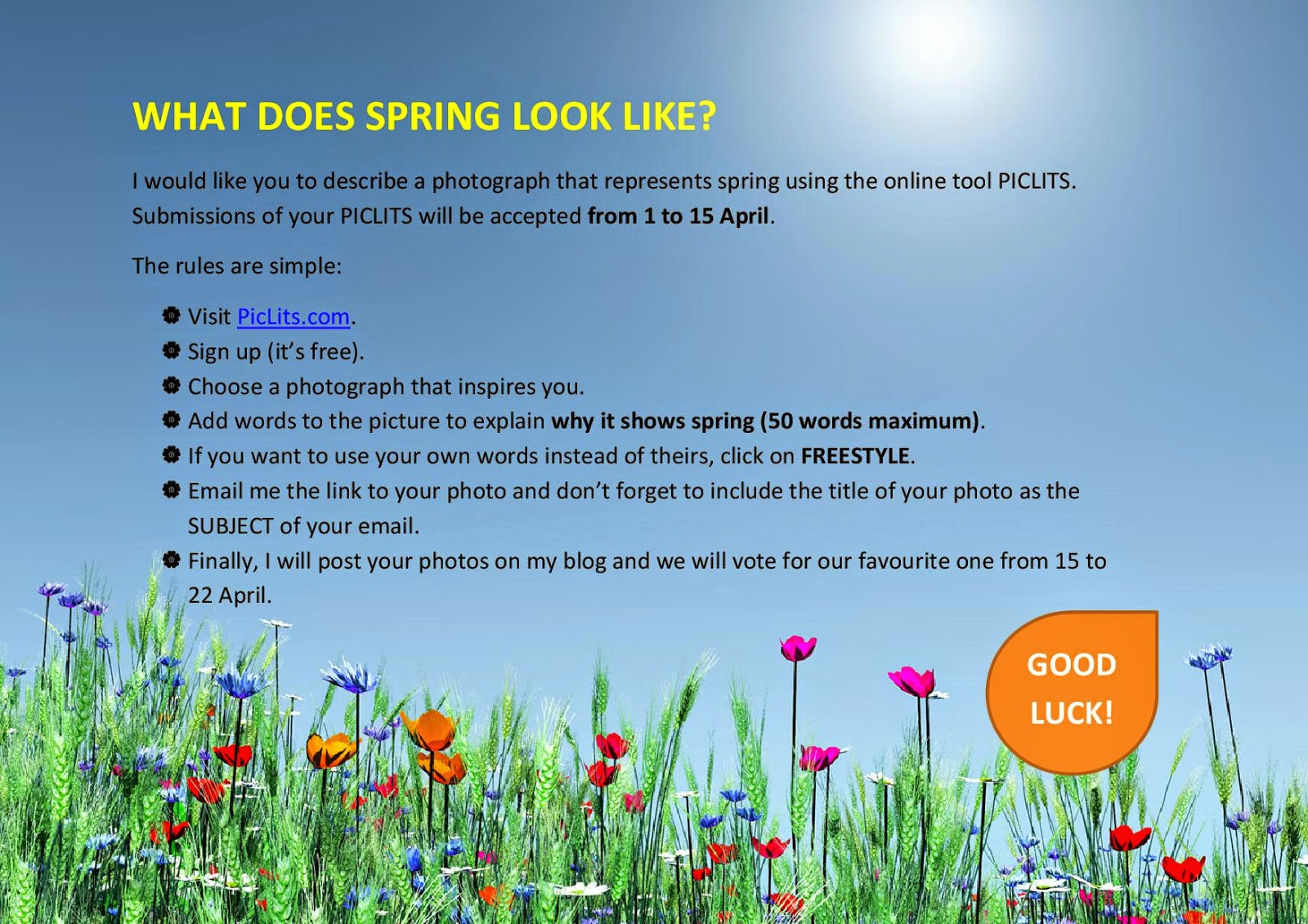 english students laura jim nez what does spring look like