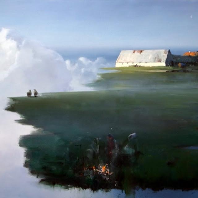 Poul Anker Bech: Sommernat (udsnit)