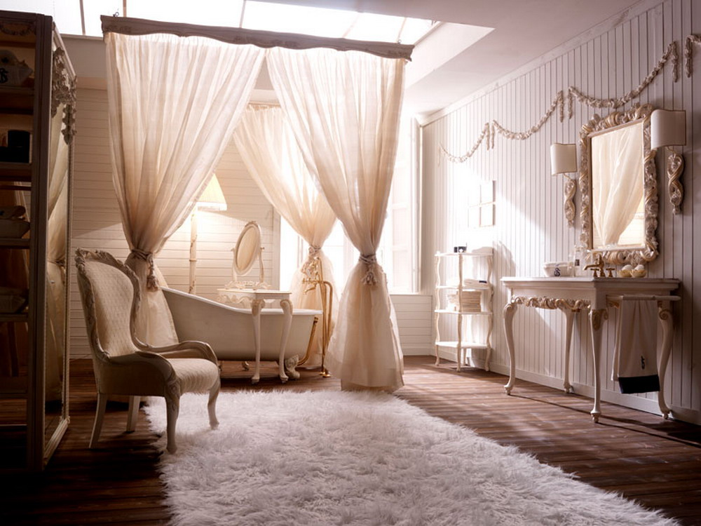 Using Bathroom Drapes For Enhancing Bathroom Interior Design ...