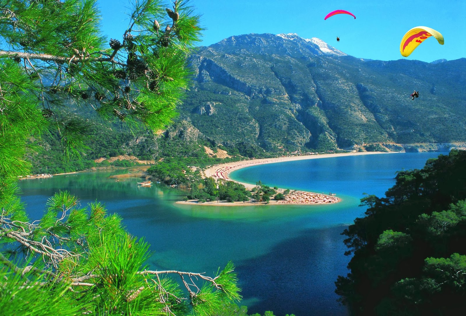 Oludeniz best beach in Turkey, Europe, World