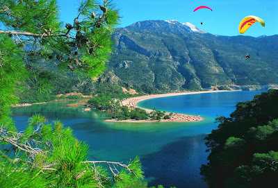 Oludeniz best beach in turkey, europe