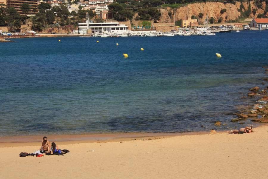 Beach in Sant Feliu de Guixols