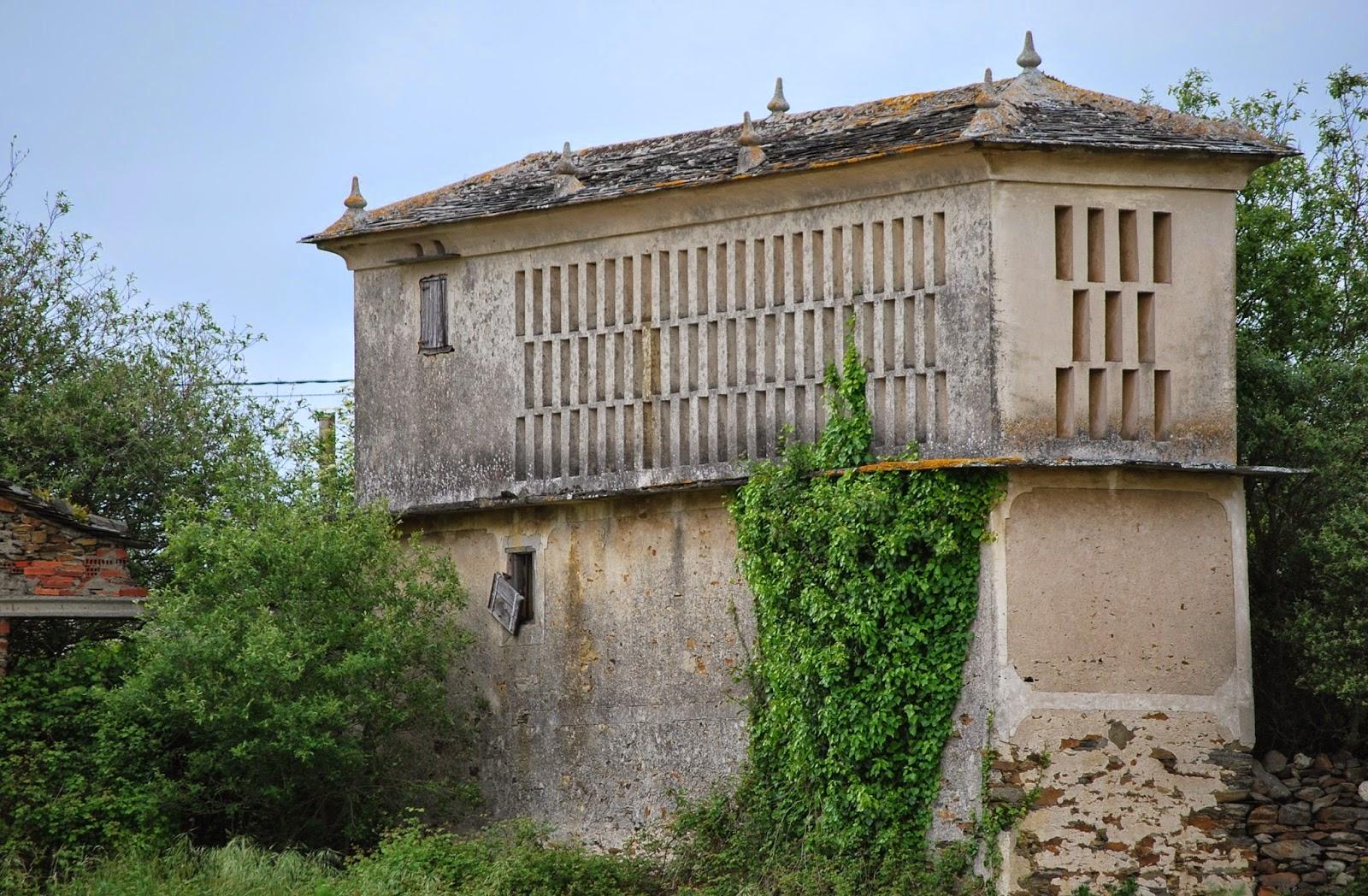 Antiguo tabique en la comarca de valdeorras ourense for Arquitectura del mundo antiguo