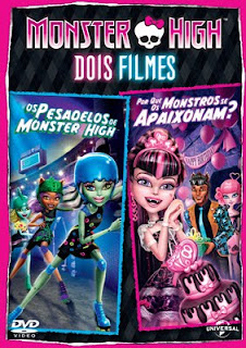 Monster High dois filmes (Dublado) DVDRip RMVB