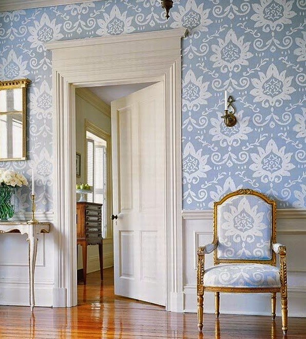 Excellent coordinati tessuti e carta da parati with carta for Carta da parati stile provenzale