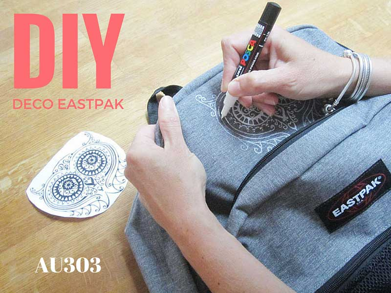 Souvent Customise ton Eastpak ~ AU 303 HOME DECO KE26