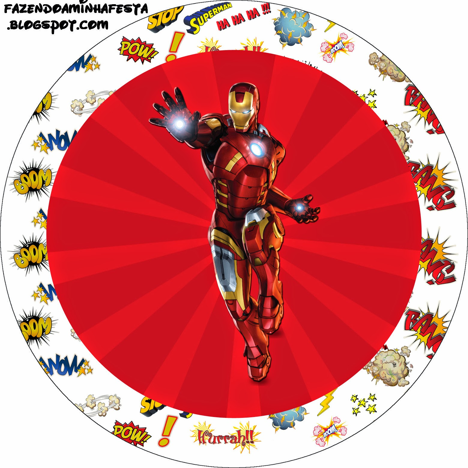 iron man toppers or free printable candy bar labels