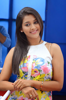 Actress Pooja Jhaveri Latest Picture Shoot Gallery in Floral Short Dress  030