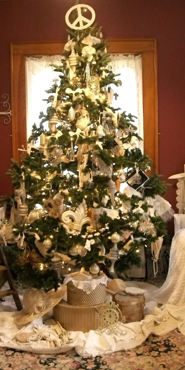 Shabby White Tree
