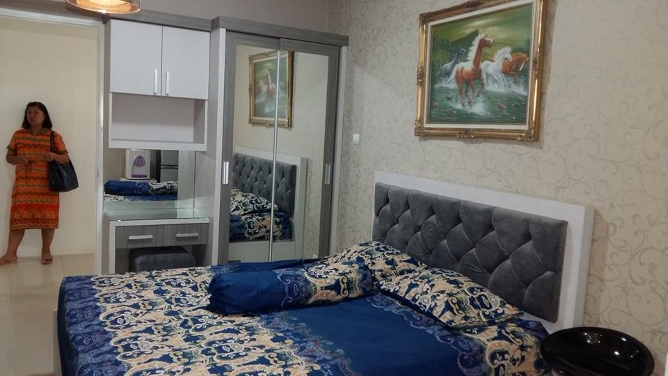 Cv tridaya interior interior apartemen bassura city for Interior apartemen studio