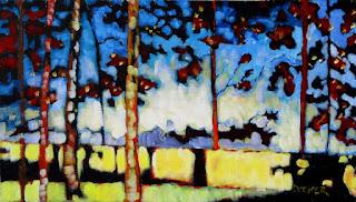 sunrise painting | docker | landscape