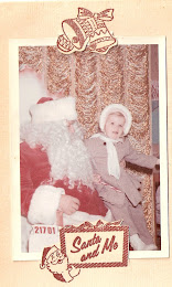 Me sitting on Santa&#39;s Lap as a Child!!