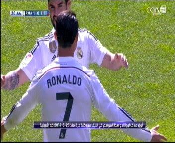 اهداف مباراة ريال مدريد و إيبار  3-0