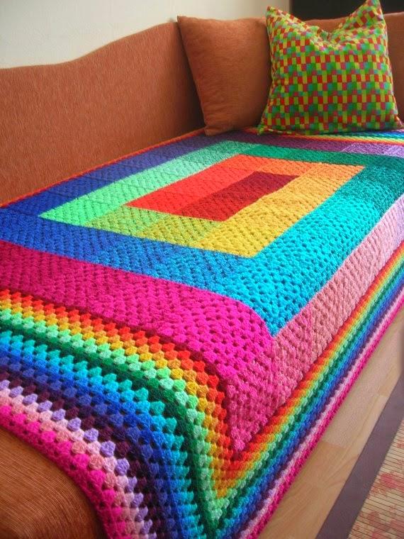 ViVENDO COM ARTE: manta para sofá