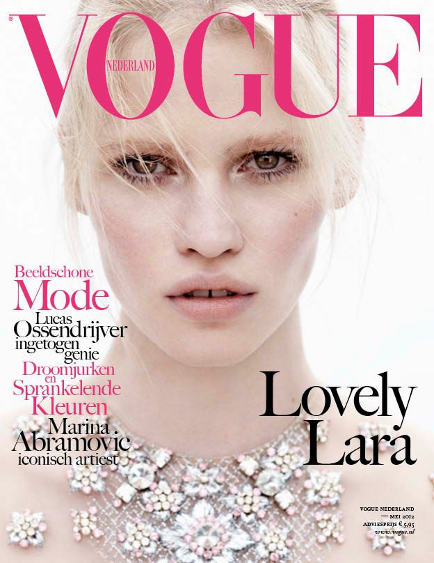Vogue Netherlands May 2012 : Lara Stone by Josh Olins