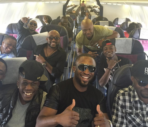 Music Artist 2face, Banky, Darey, DJ Jimmy Jatt, others, Fly Together to Durban