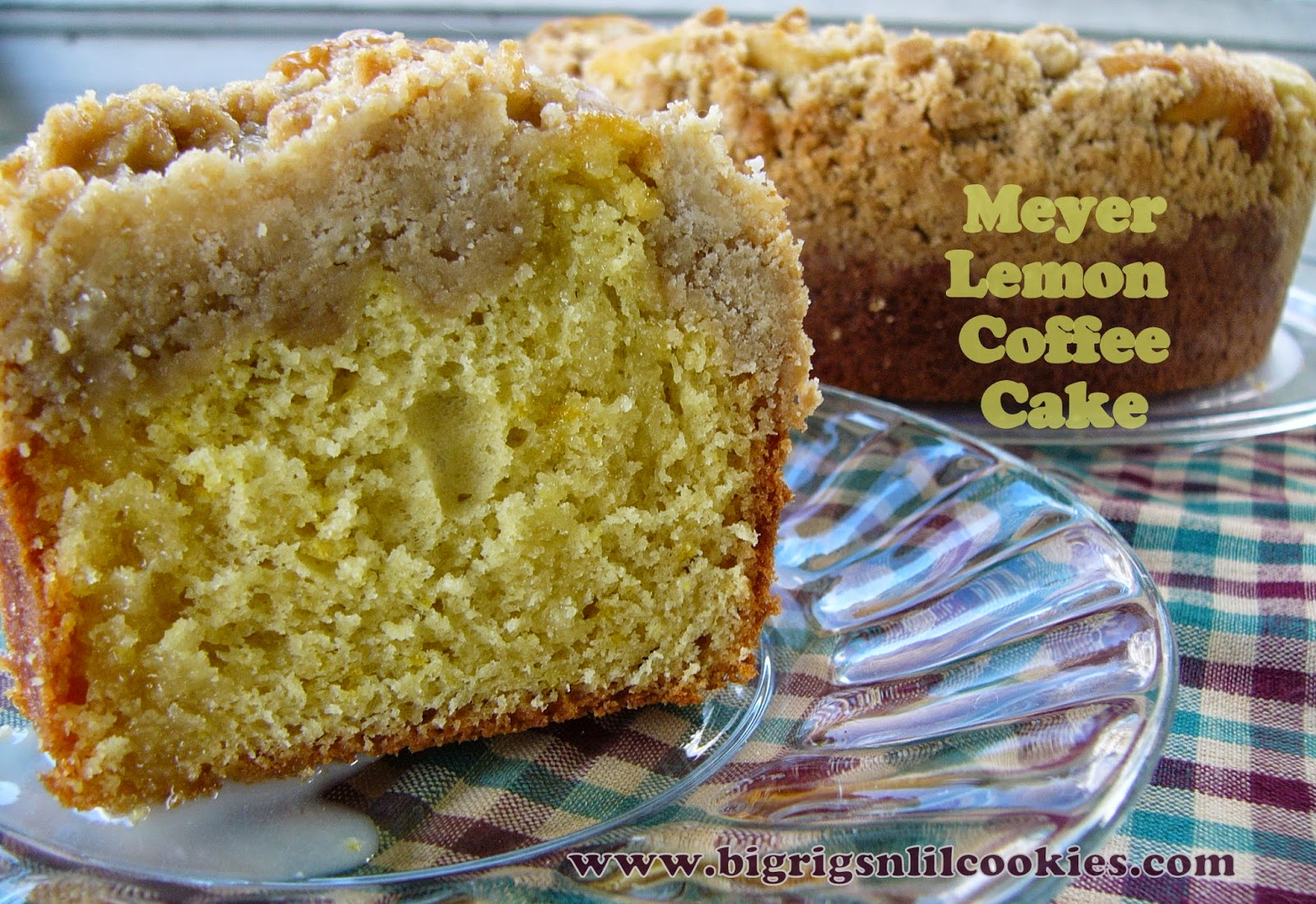 Meyer Lemon Coffee Cake (Source: Bake, Run, Live. Adapted from: Martha ...