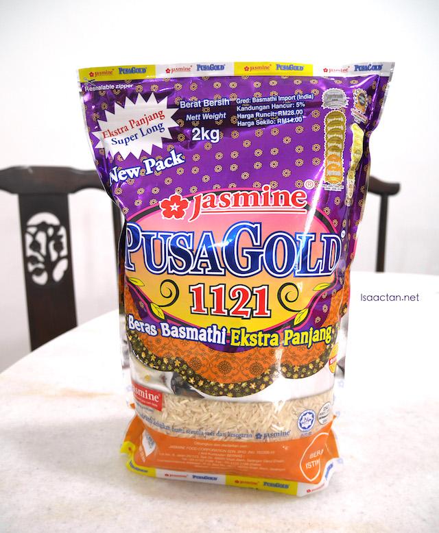 Jasmine Pusa Gold 1121 Basmathi Rice