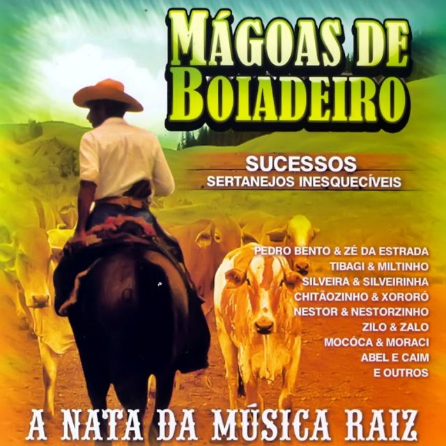 Capa Mágoas de Boiadeiro – Sucessos Sertanejos Inesquecíveis | músicas
