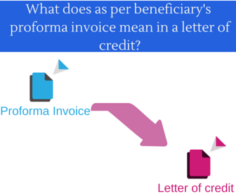 How To Invoice On Paypal What Does As Per Beneficiarys Proforma Invoice Mean In A Letter  Create Invoice Template Word with Tax Invoice Template Word Word But What Does An Express Reference To A Proforma Invoice Mean In A Letter  Of Credit Receipt Software Free Download