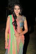 Manasa Glamorous Photos in Half saree-thumbnail-1