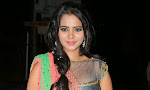 Manasa Glamorous Photos in Half saree-thumbnail