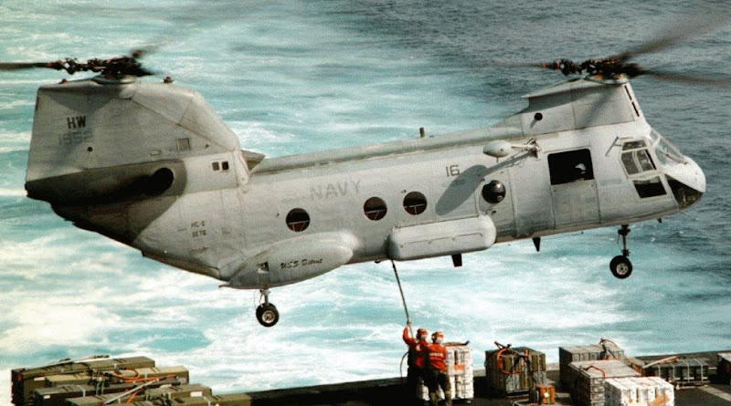 CH-46 Sea Knight-US Marine Helicopter