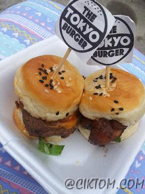 Mini Burger @TheTokyoBurger