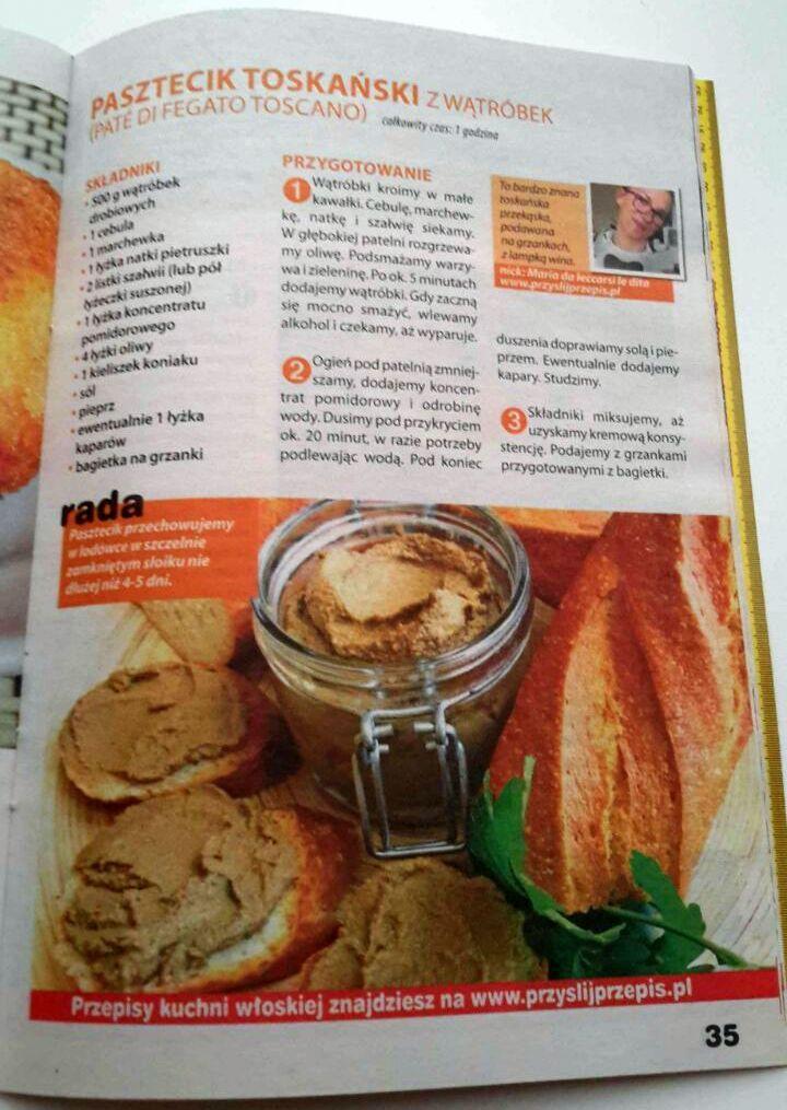 Publikacja w Kulinarne Hity 4/2014