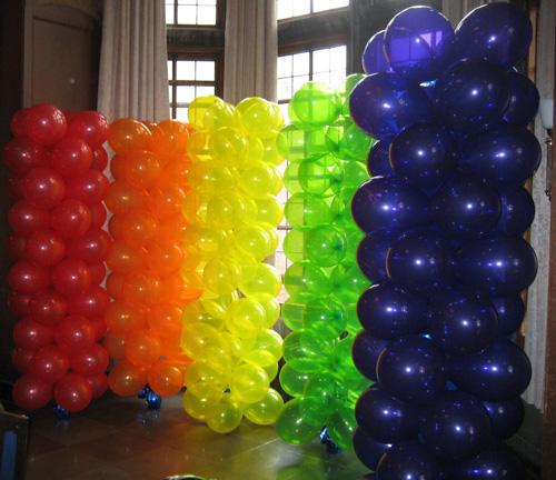 Kalliopelp decoraci n con globos c mo hacer una columna - Como hacer decoracion con globos ...