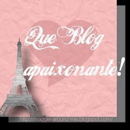 Que blog  apaixonante!