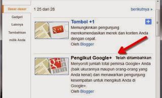 Pengikut google plus