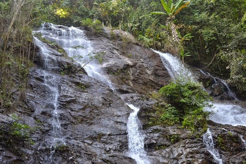 Thailande, Treck, cascade, waterfall