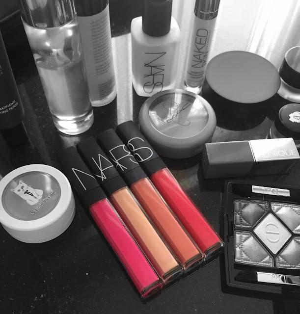 NARS lip gloss-Striptease, Giza, Salamanca, Priscilla