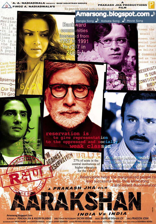Aarakshan (2011) Indian, Bollywood, HIndi Movie Song 128Kbps Free Download