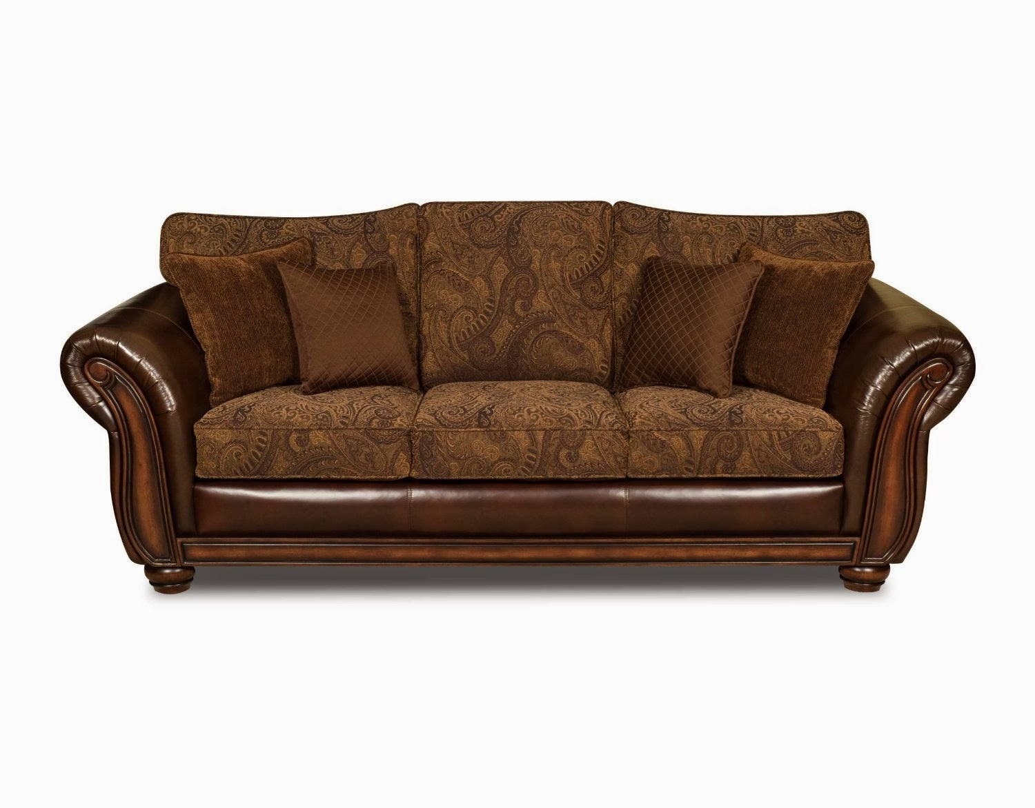 Vintage couch Retro loveseats