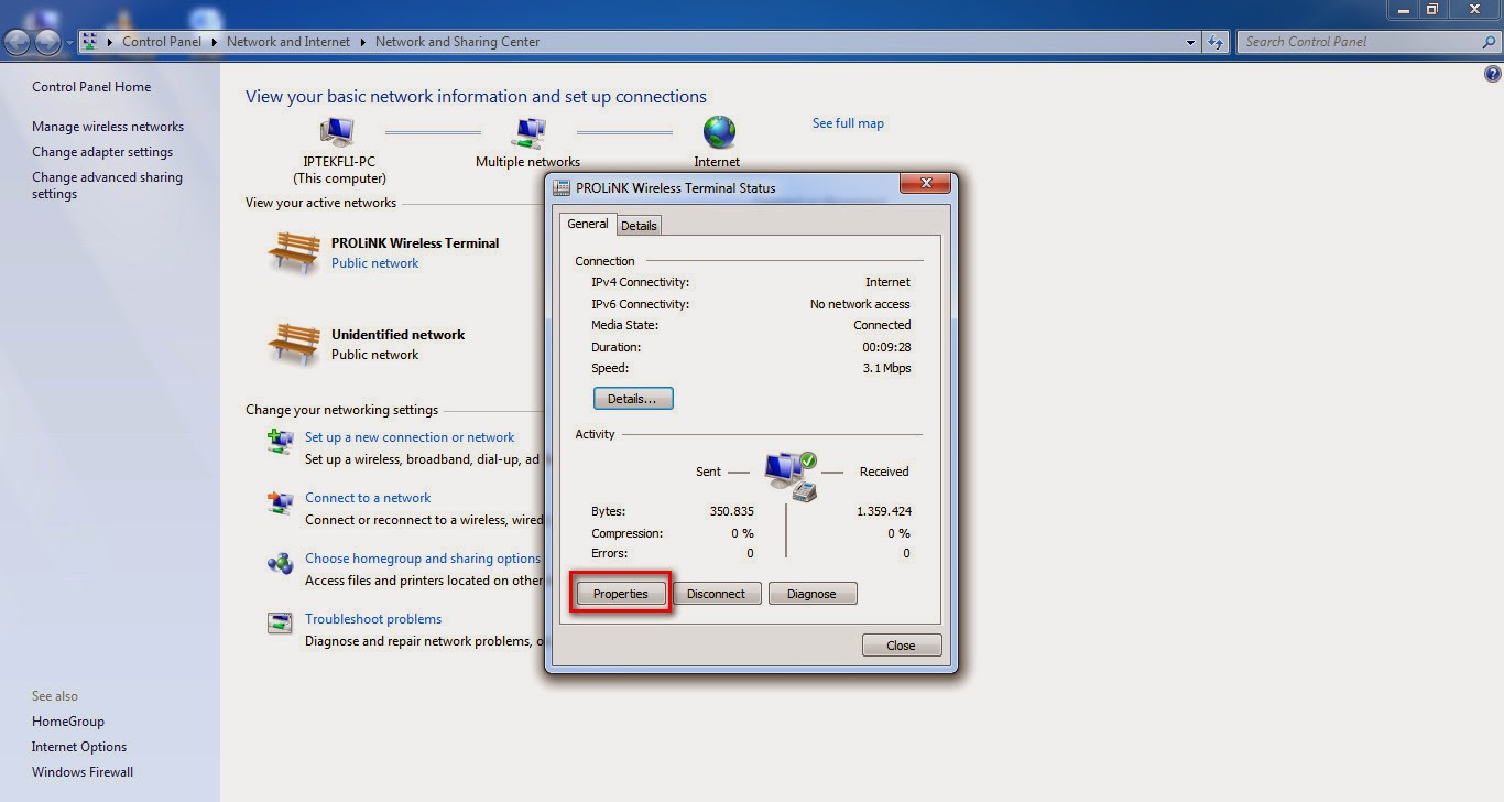 Cara Sharing Internet Menggunakan Wifi Laptop Di Windows 7