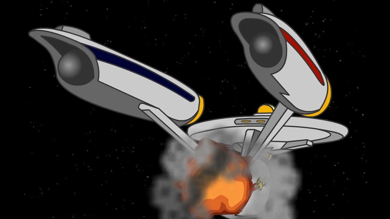 Image of: Tom Rotv Has Also Completed His Series Reflections Of Evil You Can Watch All Parts At Goanimate Or The First Four On You Tube And The Last Part On Go Fandom Star Trek Reviewed Goanimate Rotv