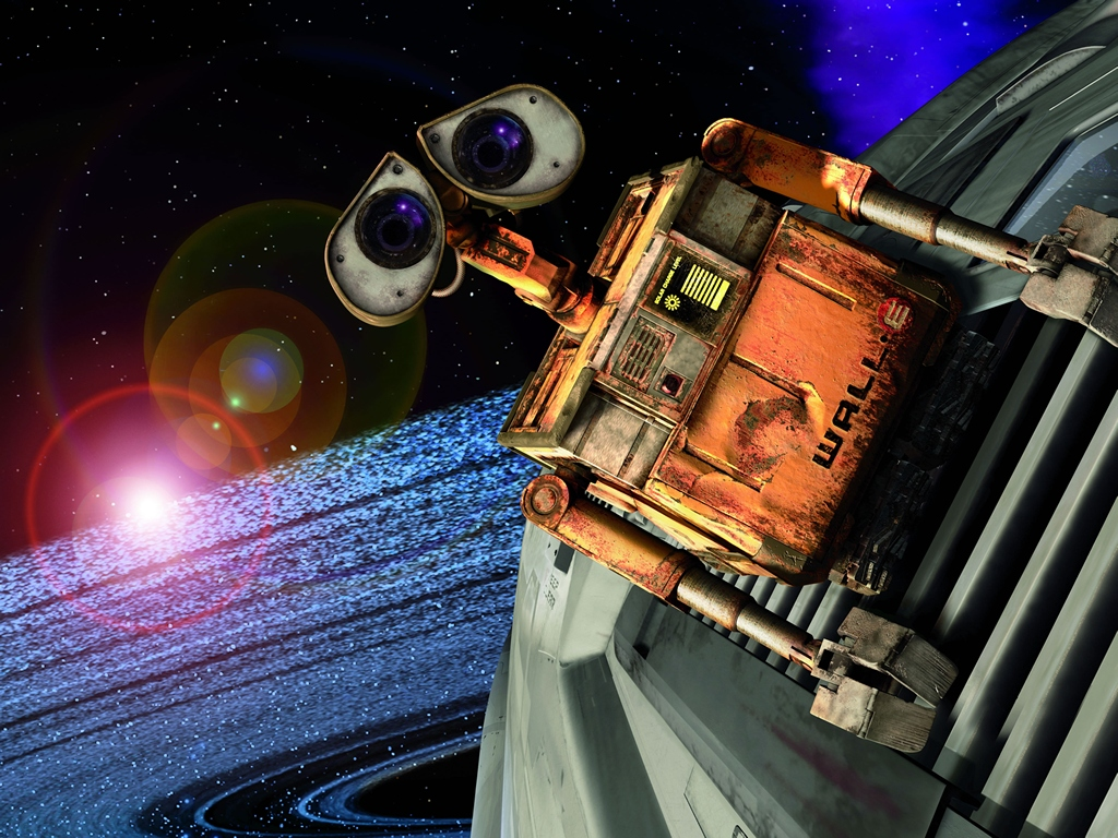 Wallpaper db wall e wallpaper hd for Wallpaper for your wall