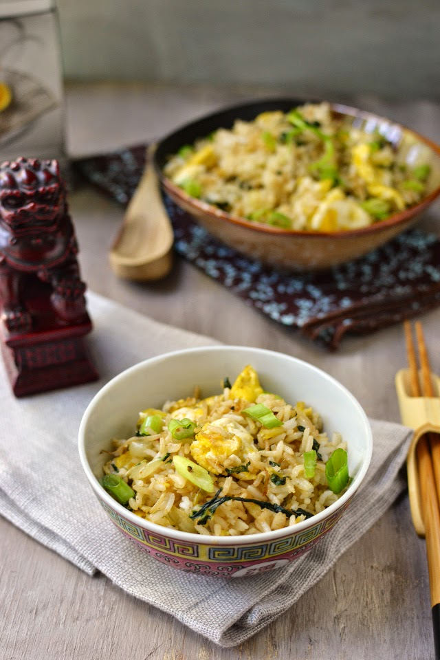 Vegetarian Shanghai Fried Rice