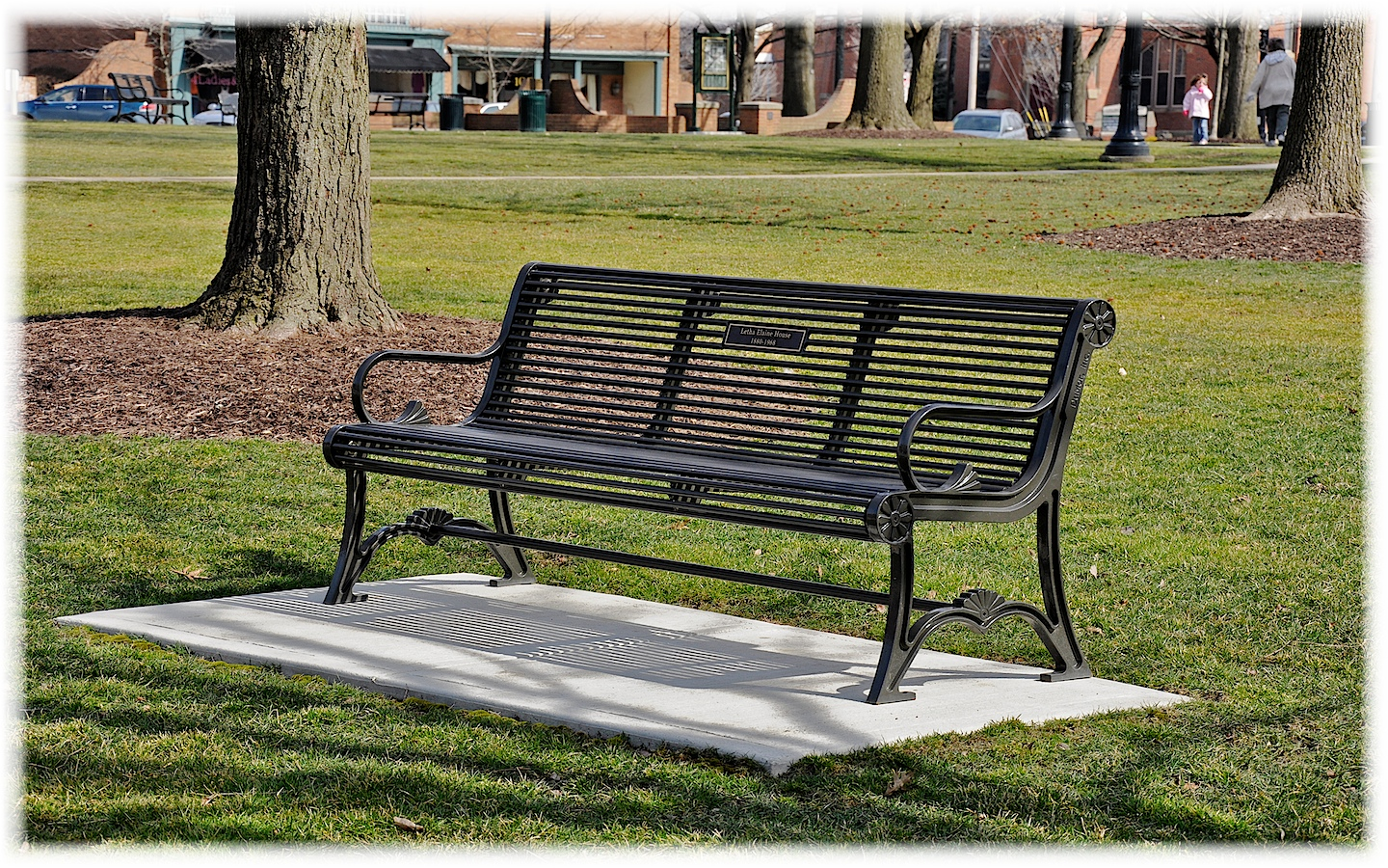Connecticut Diaries Public Square Park Benches