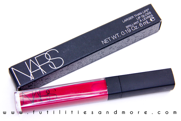 Nars Larger than life lipgloss: Place Vendome and Como Review, Swatches and tests