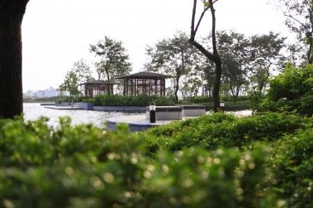 Công viên - hồ nước Gamuda