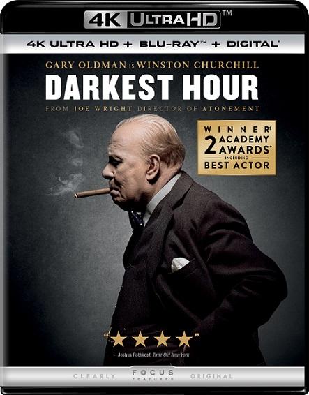 Darkest Hour 4K (El instante más oscuro/Las horas más oscuras 4K) (2017) 2160p 4K UltraHD HDR BluRay REMUX 49GB mkv Dual Audio Dolby TrueHD ATMOS 7.1 ch