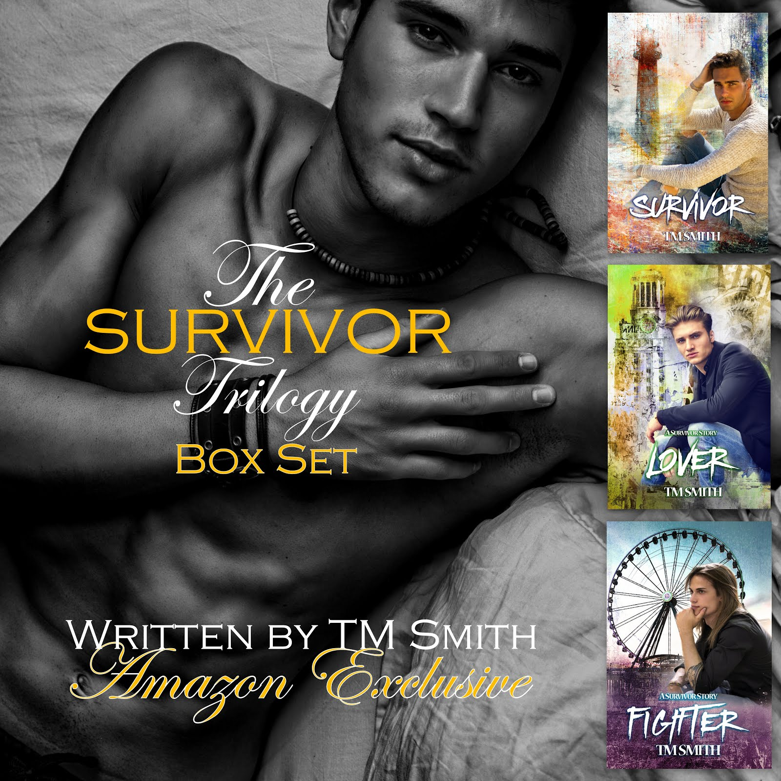 Survivor Trilogy box set ~ Amazon exclusive ~ FREE with Kindle unlimited.
