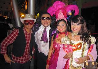 clarke quay Singapore halloween 2012